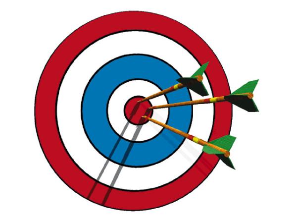bullseye, productivity